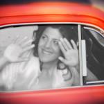 L'autista scappa con la sposa