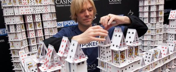 Il castello di carte più grande del mondo