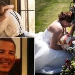 La sposa e la lapide: la foto fa il giro del web