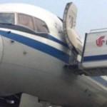 Aereo cinese si schianta contro un UFO