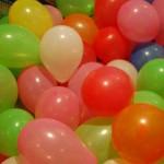 Palloncini in casa