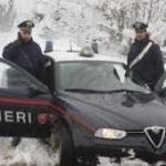 Un gruppo di carabinieri va in alta montagna…