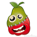 Ci sono una mela e una pera che si vogliono sposare