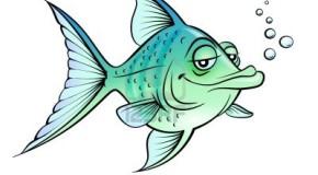Dentro un acquario, due pesci rossi stanno discutendo…