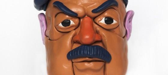 Busch Berlusconi e Blair sono stati catturati da Saddam Hussein.