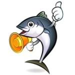 Un giorno il tonno invita la tonna a casa sua per una cenetta.