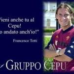 Totti al Cepu… Totti sta facendo un esame di grammatica al cepu