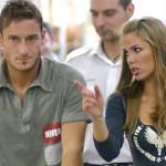 La fidanzata di Totti, nonché letterina, Ilary chiede a Francesco: