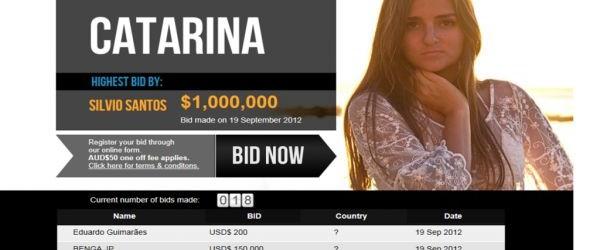Catarina ci riprova, la sua verginità all'asta per la terza volta: sarà protagonista di un reality show