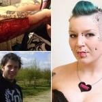 """Si """"strappa"""" il tatuaggio e glielo invia all'ex che l'ha tradita."""