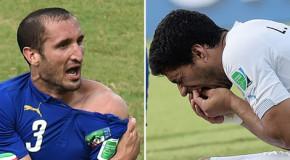 Guadagna 673 euro per aver previsto il morso di Suárez prima della partita Italia-Uruguay
