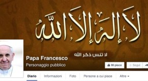 Hackerata la pagina Facebook di Papa Francesco