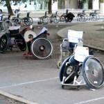 In Portogallo la protesta dei disabili occupa i parcheggi regolari