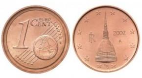 Monetina di un centesimo vale 2 mila e 500 euro