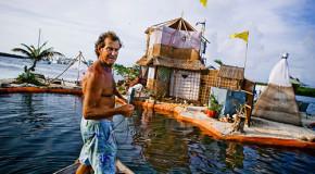 In Messico un'isola ecologica costruita con bottiglie di plastica