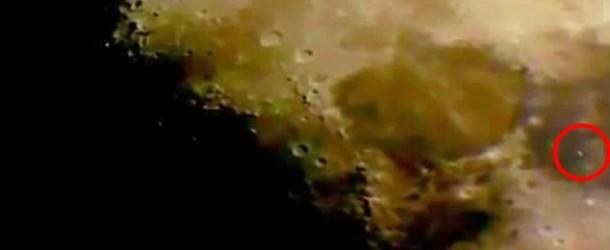 Misterioso oggetto volante compare sulla Luna. Le immagini riprese da uno Skywatcher!